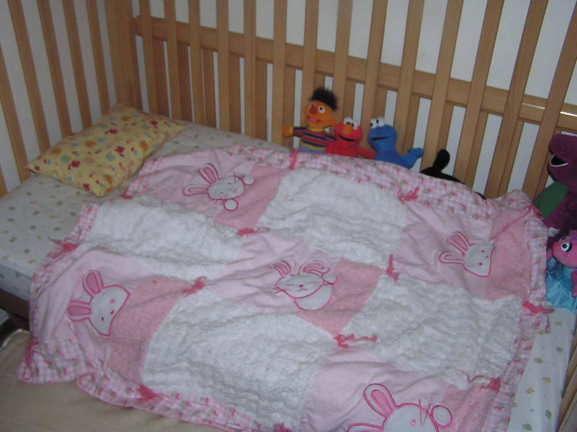 Make Toddler Bed Flat Sheet