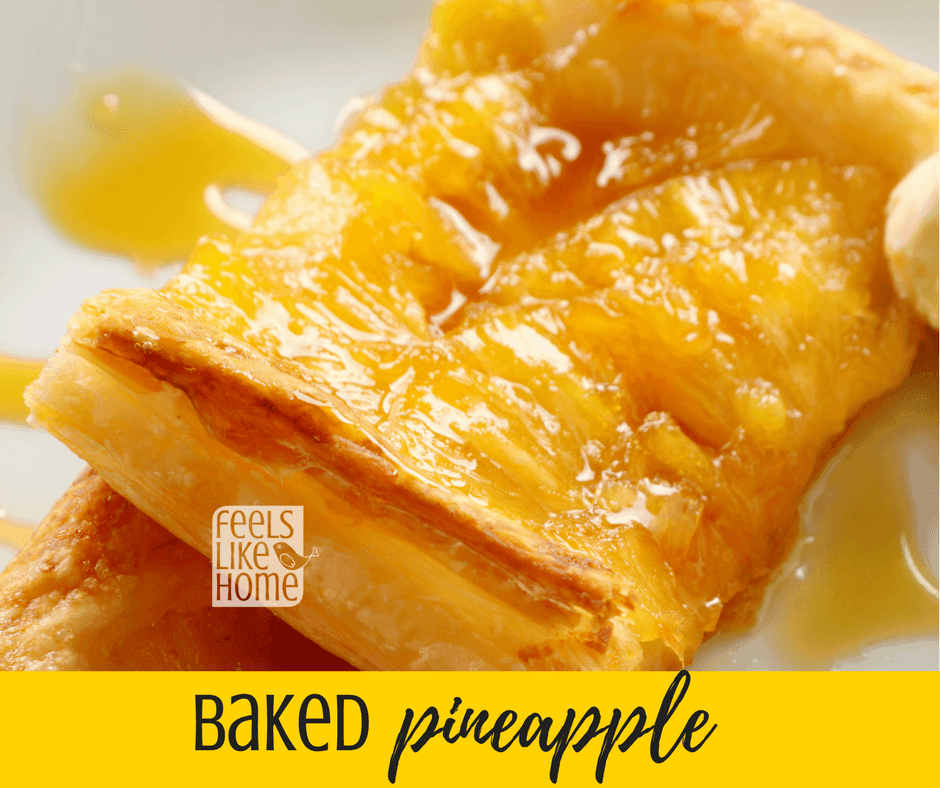 The best baked pineapple casserole recipe - So sweet it can be a side dish or a dessert. Simple and easy. Great for Thanksgiving, Christmas, Easter, or any occasion! Includes eggs.