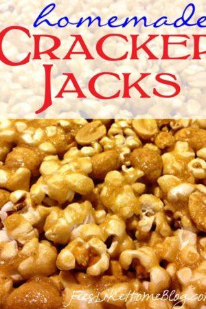 homemade cracker jacks recipe