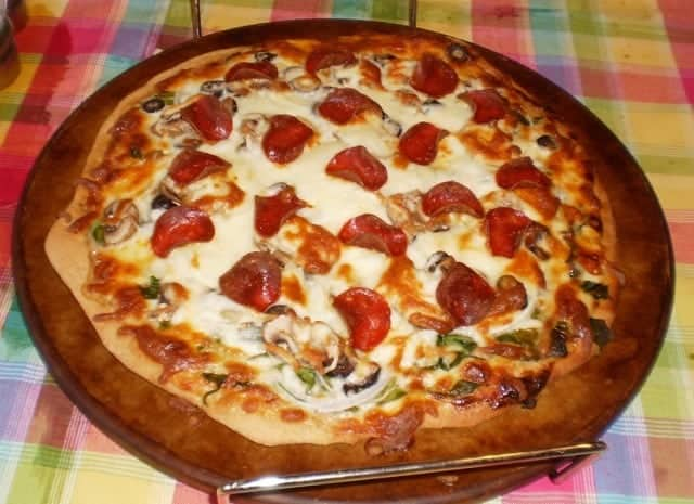 Homemade Pizza is Frugal and Healthy