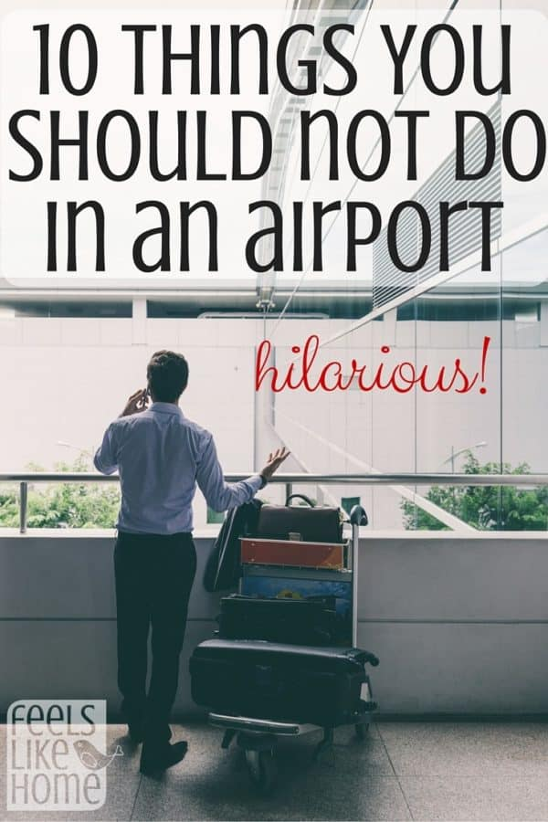 If you haven't flown recently, you might not know about all the restrictions there are. This lady had a funny experience!