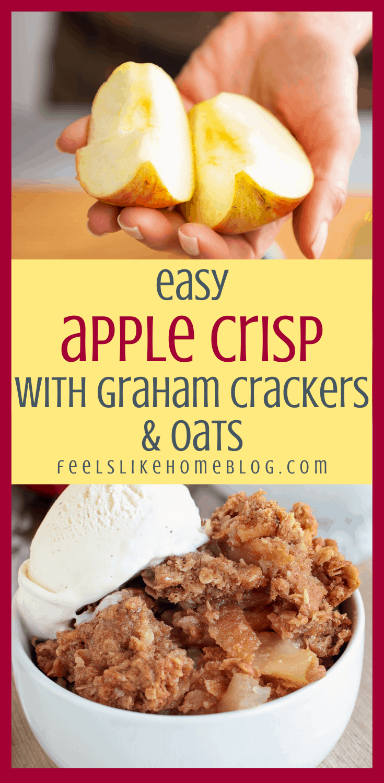 The Best Apple Crisp Recipe You\'ll Ever Eat - Quick & Easy Dessert