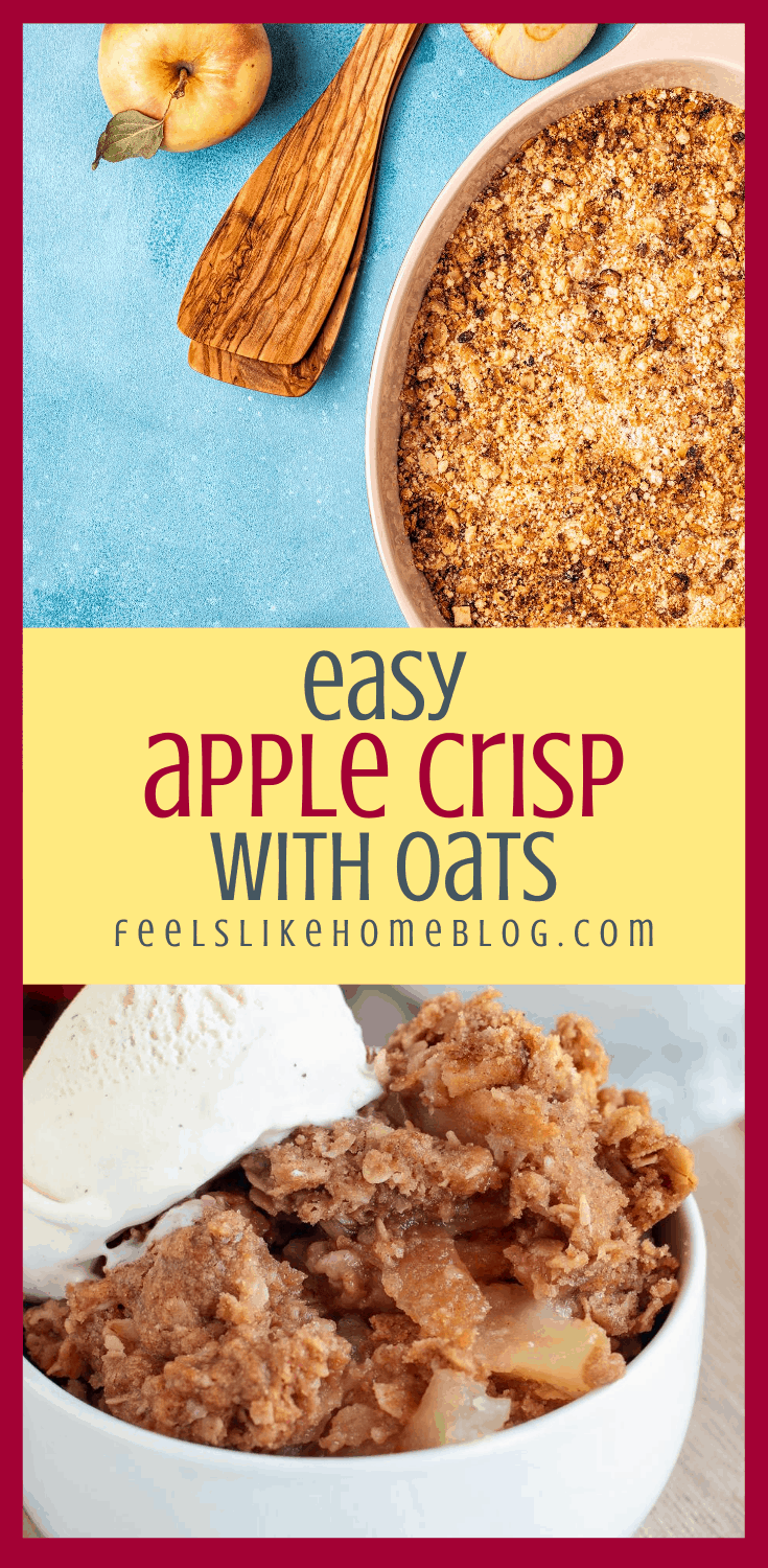 Grace\'s Apple Crisp with Oats