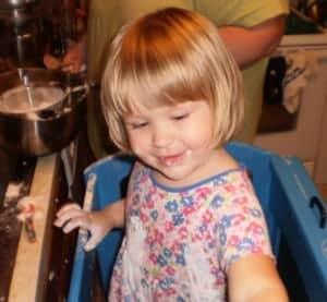 my helper chocolate candy corn cookies