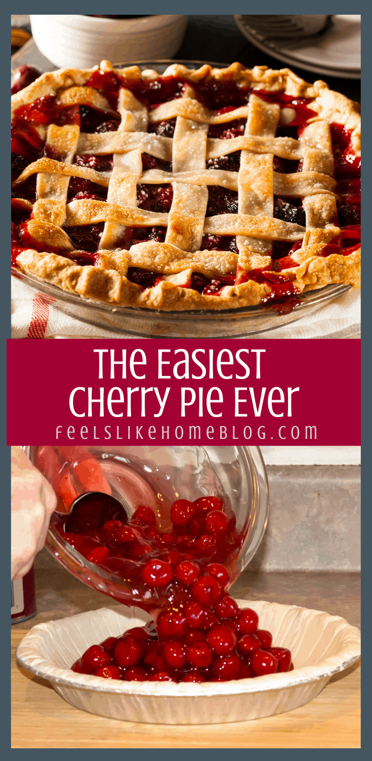 Couldn\'t Be Easier Cherry Pie Recipe