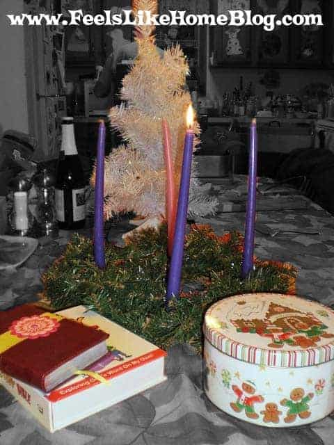 Advent wreath start a new tradition for How did the christmas tree tradition start