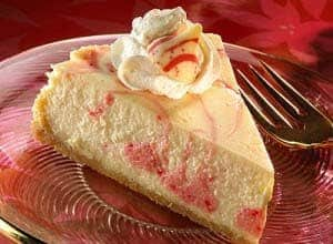 candy candy swirl cheesecake