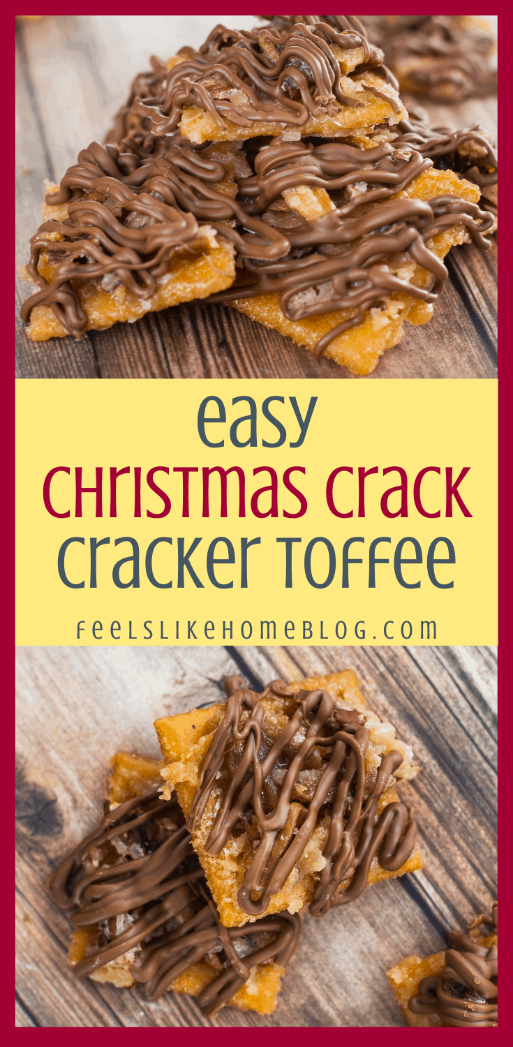 Christmas Crack (Also Known As Cracker Candy or Toffee Bark)