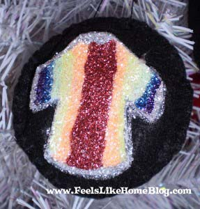 Joseph - The Coat of Many Colors ornament