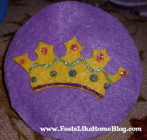 King David - Crown ornament