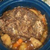 Slow Cooker Pot Roast – Use Up Leftover Soda Pop