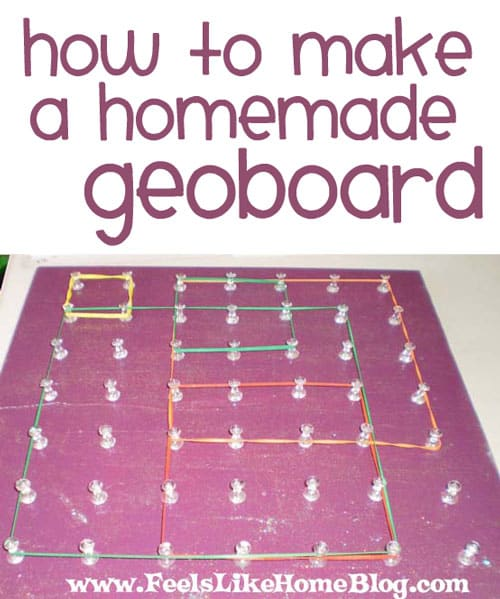 How To Make A Geoboard