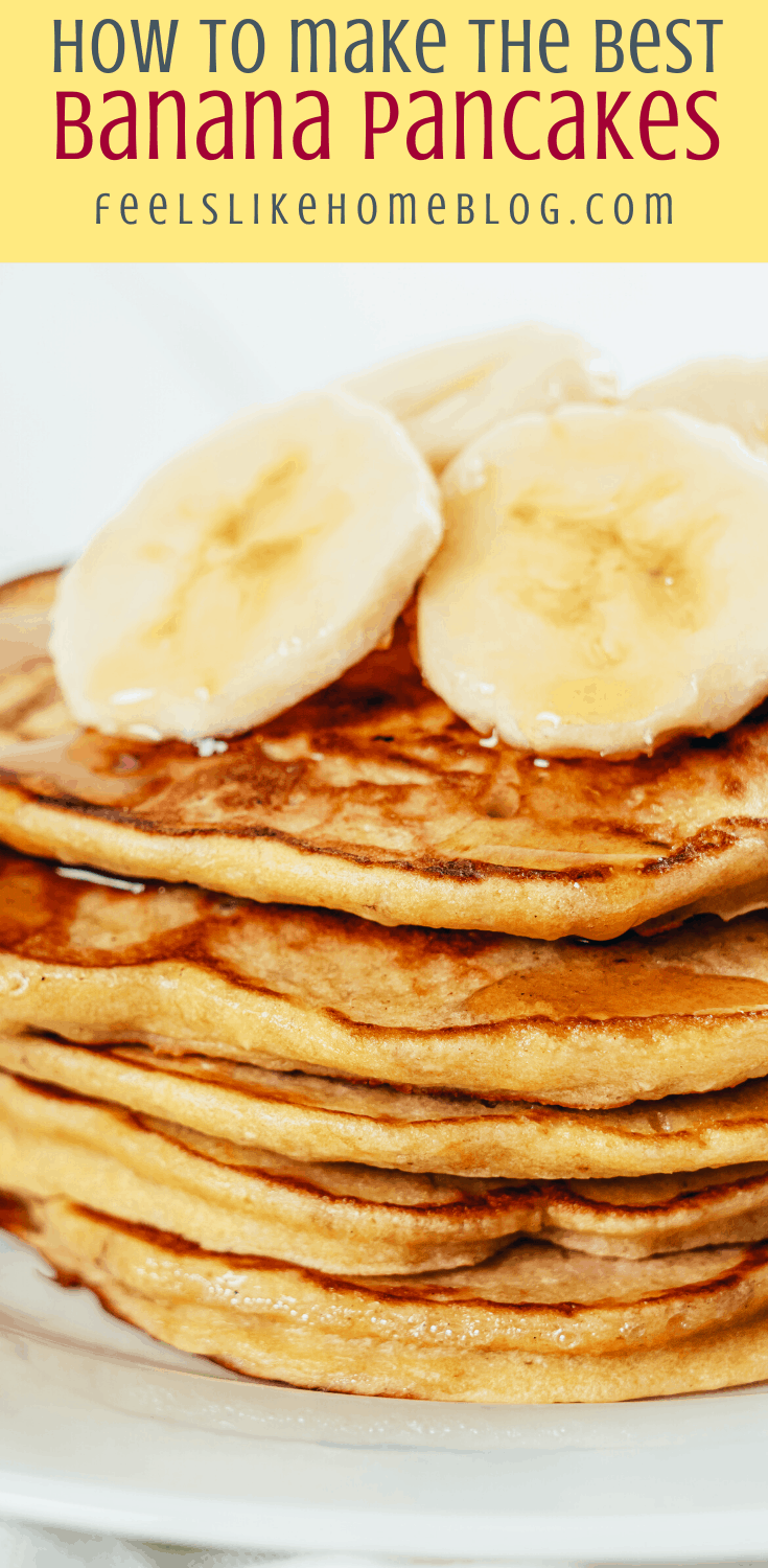 How to Make the Best Banana Pancakes with Chocolate Chips