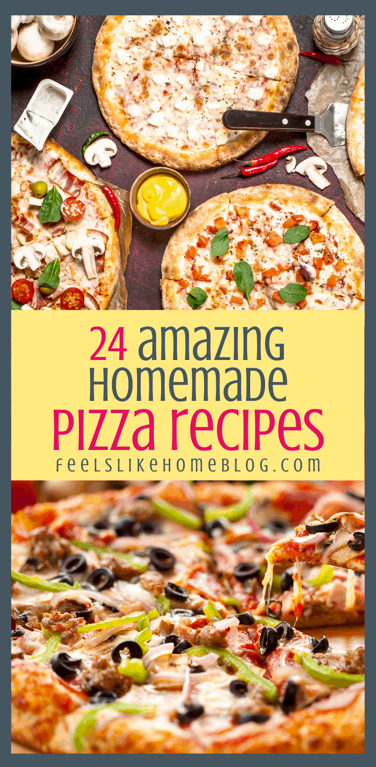 24 Frugal & Healthy Homemade Pizza Recipes