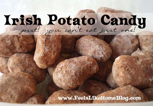 Irish Potato Candy Recipe and Other St. Patrick's Day Fun