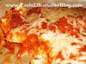 quick and easy baked ravioli
