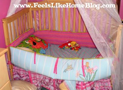 Grace's bed has been slept in
