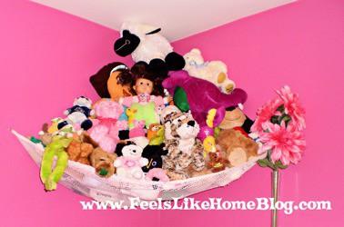 stuffed animal hammock
