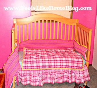 Hot Pink Crib Bedding