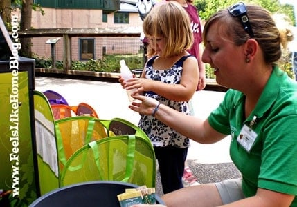 Recycling Games at the Philadelphia Zoo