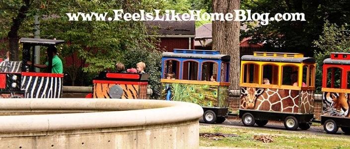 Train at the Philadelphia Zoo