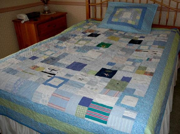 Keepsake Quilting: Make a Quilt from Baby Clothes