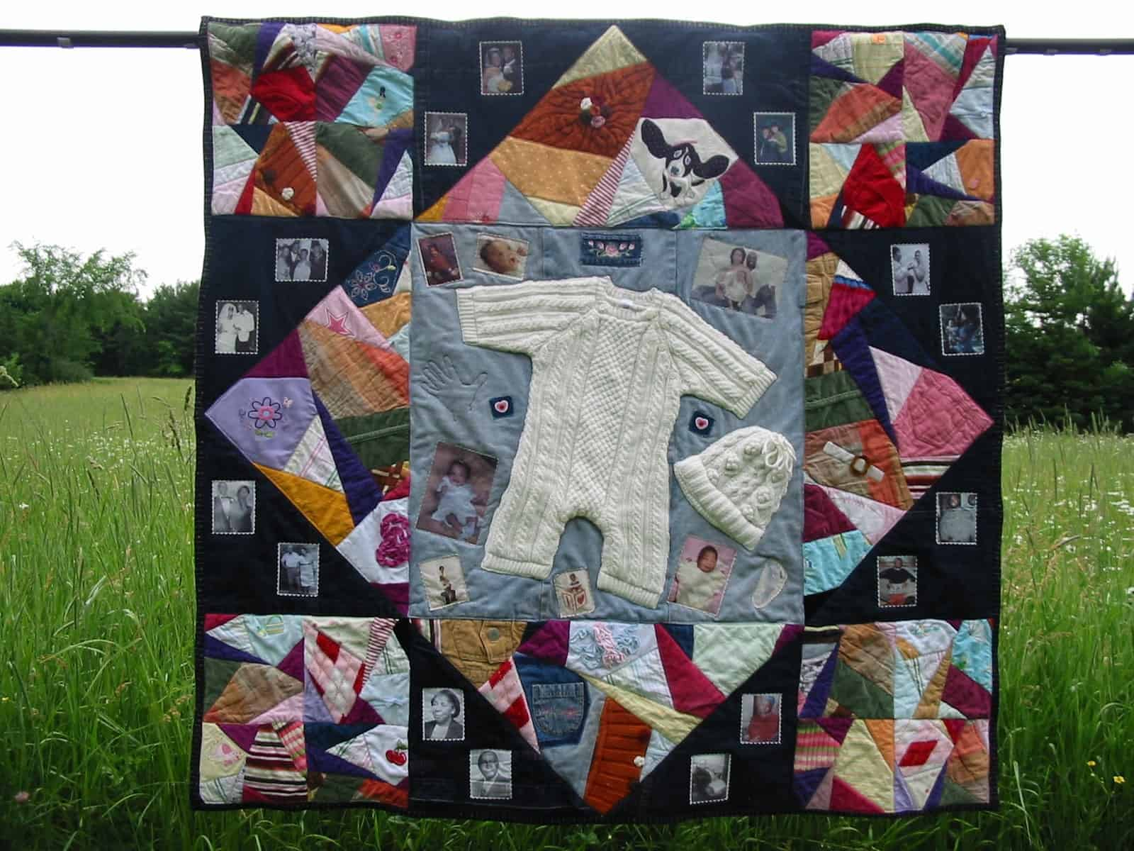 Keepsake Quilting Design A Baby Clothes Quilt