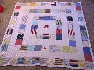 Keepsake Quilts Make A Quilt From Baby Clothes Feels