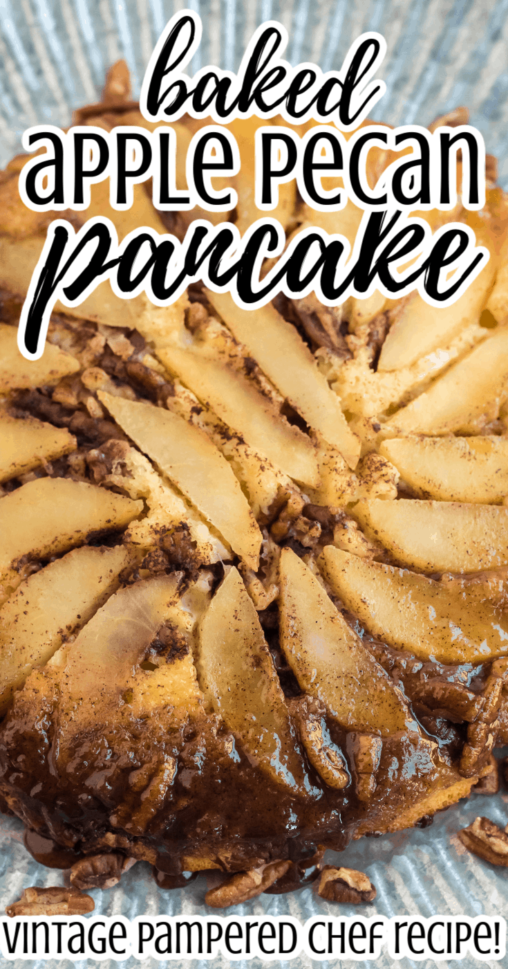 Baked Apple Pecan Pancakes
