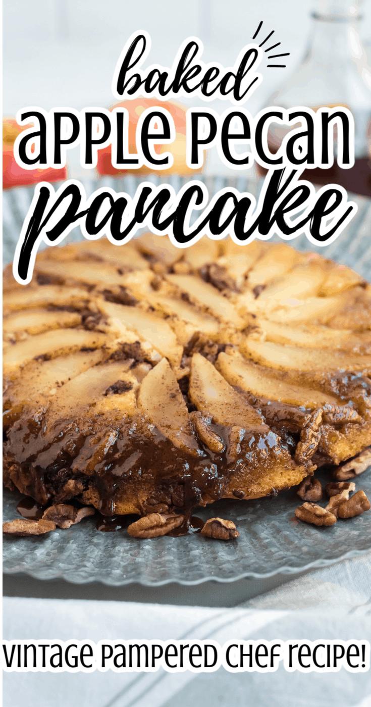 Baked Apple Pecan Pancakes