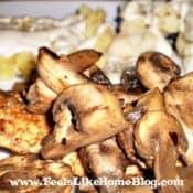 Balsamic Chicken with Mushrooms
