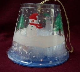 Snow Globe Christmas Ornament craft