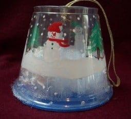 Snow Globe Christmas Ornament craft