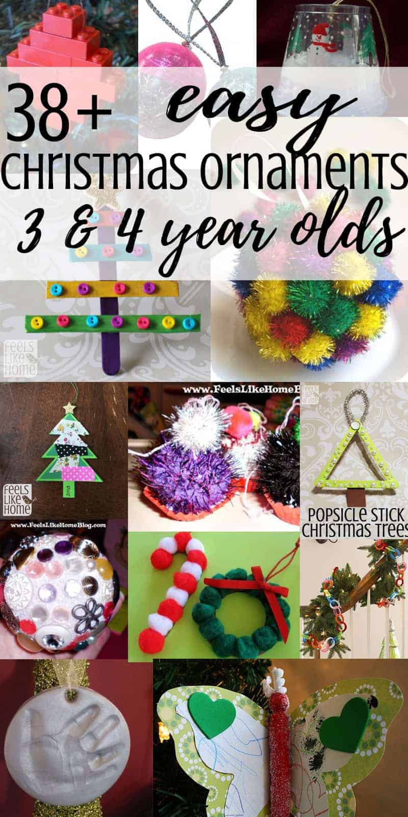 easy christmas crafts ideas crafts for preschoolers feels like home 4336