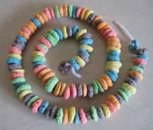 fruit loop garland