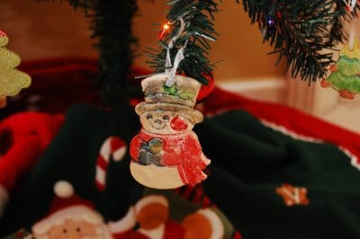 homemade dough ornaments