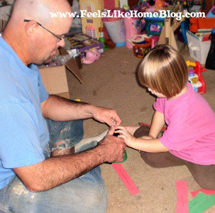 making a paper chain
