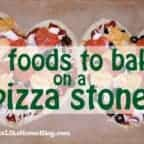 what to cook on a baking stone
