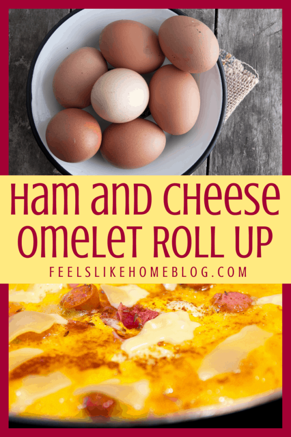 Eggs and an omelet