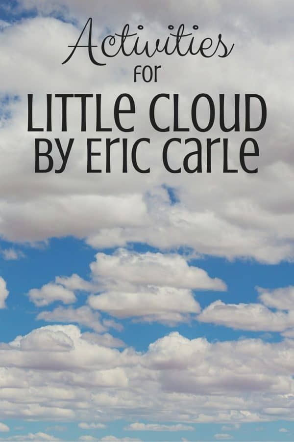 Tons of science activities and lessons to go with the book Little Cloud by Eric Carle! Written by a science teacher.