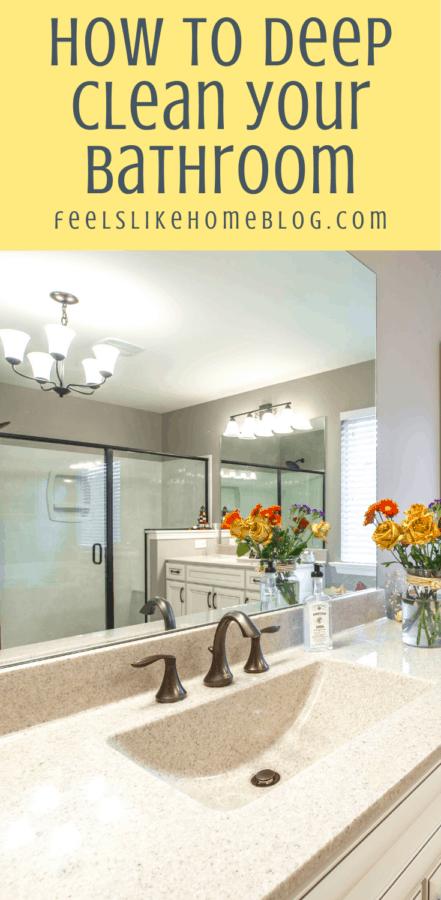 a clean bathroom with a sink and a bathtub