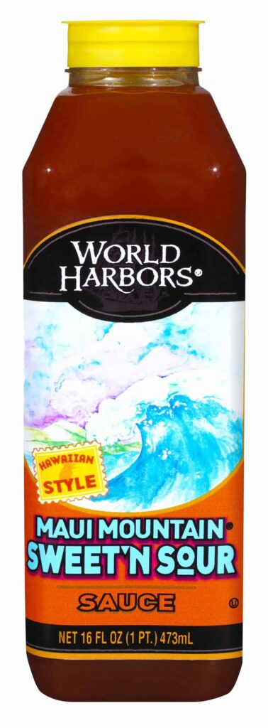 World Harbors Maui Mountain Sweet n Sour Sauce