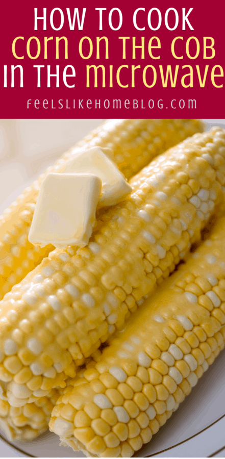 many ears of corn on the cob with butter