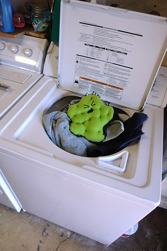 disinfect laundry