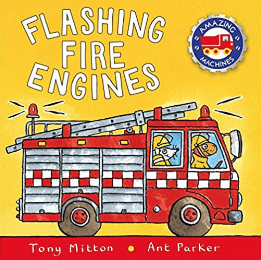 A book about fire trucks