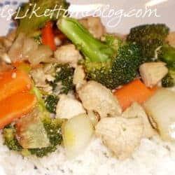 garlic stir fry