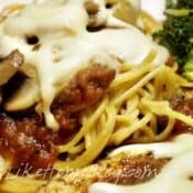 Chicken Parmesan featuring Barilla® Whole Grain Pasta