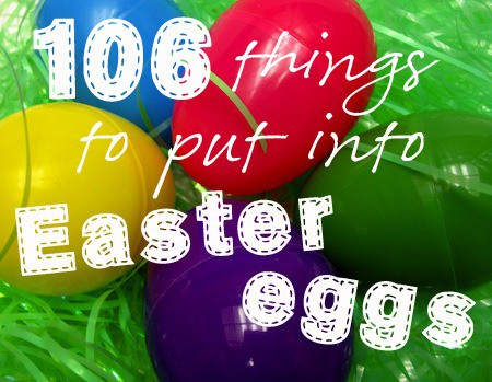 what to put in easter eggs