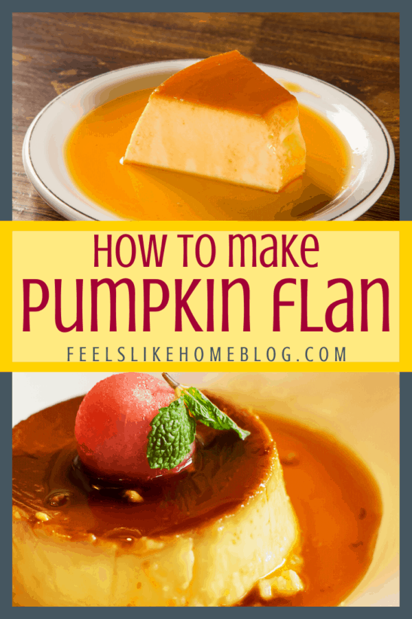 ow to Make The Best Simple and Easy Homemade Pumpkin Flan Recipe - This amazing dessert is similar to crème brulée, a thick rich custard with melted sugary caramel syrup.