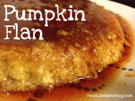 How to Make The Best Easy Pumpkin Flan Recipe - This amazing dessert is similar to crème brulée, a thick rich custard with melted sugary syrup.